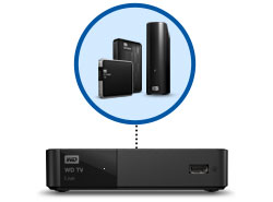 WD TV Live - Enjoy media from many sources