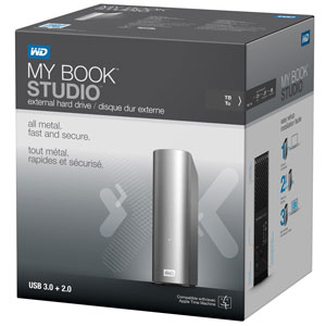 Amazon Com Wd My Book Studio 4tb Mac External Hard Drive