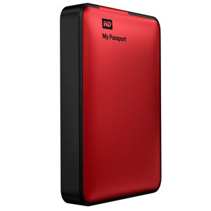 wd my passport 2tb portable external usb 3 0 hard drive storage red wdby8l0020brd. Black Bedroom Furniture Sets. Home Design Ideas