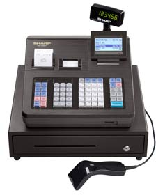 Amazon sharp xea507 bar code scanning and dual receipt cash sharp strives to help you create a balance between work and personal time with products that enhance life at work at home and everywhere in between fandeluxe Image collections