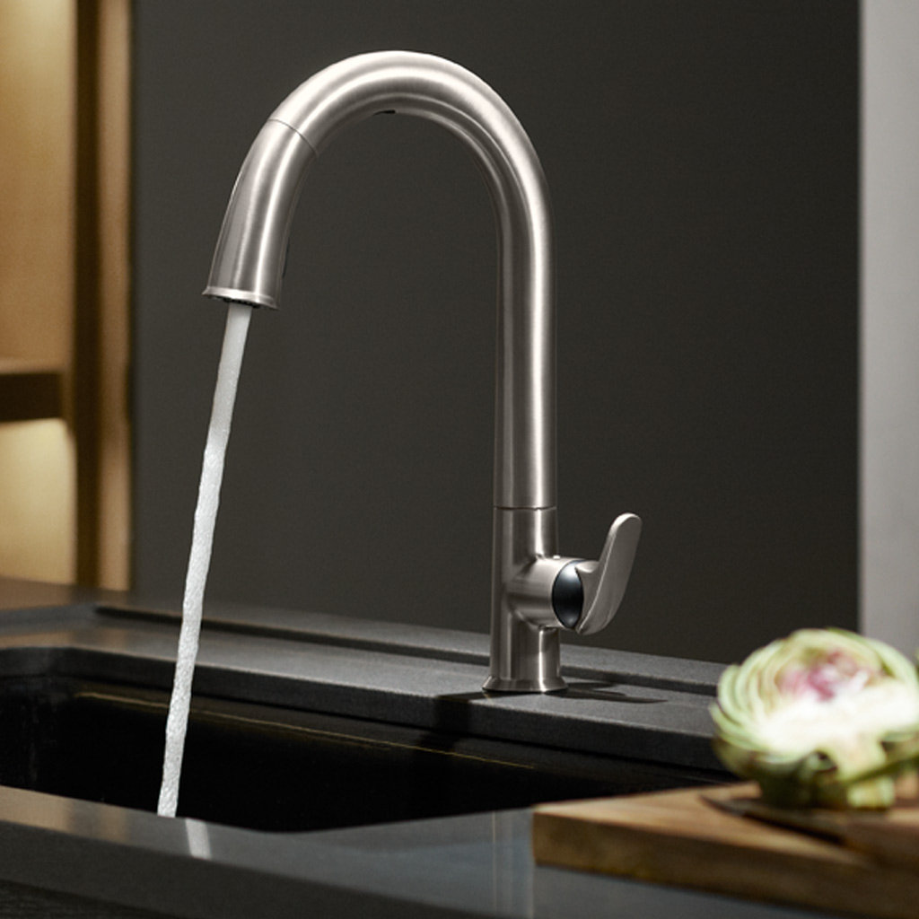 touchless kitchen faucet vibrant stainless touchless kitchen