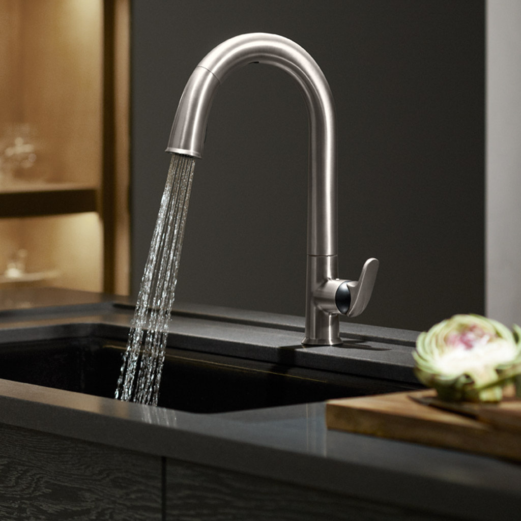 KOHLER K-72218-CP Sensate Touchless Kitchen Faucet