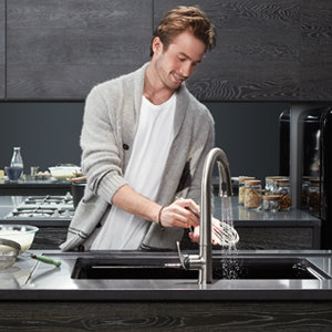 Kohler K 72218 B7 Cp Sensate Touchless Kitchen Faucet Polished