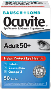 Ocuvite Eye Vitamin Adult 50+ Formula (50 Soft Gels)