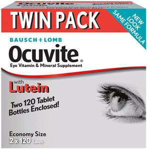 Ocuvite Lutein (120 soft gels), 2-pack