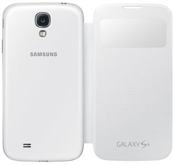 Amazon samsung galaxy s4 s view flip cover folio case white samsung galaxy s4 s view flip cover folio case white ccuart Image collections