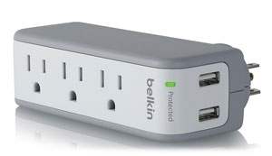 Belkin SurgePlus USB Swivel Charger