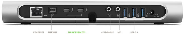 Amazon.com: Belkin Thunderbolt Express Dock (Compatible with Thunderbolt 2 Technology), Cable ...