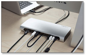 Belkin Thunderbolt Express Dock Product Shot