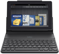 Belkin QODE Portable Keyboard Case for Kindle Fire 7-Inch HD and HDX Product Shot