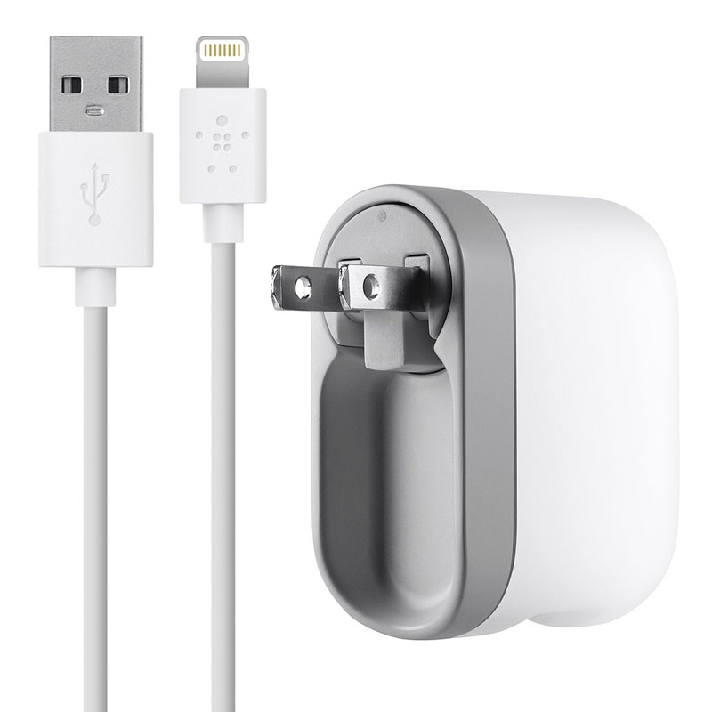 Amazon.com: Belkin USB Swivel Home And Wall Charger With