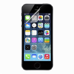 Belkin TrueClear Transparent Screen Protector for iPhone 5 (3 Pack) Product Shot