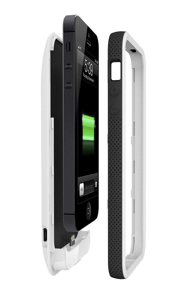 Amazon Com Belkin Grip Power Battery Case For Iphone 5