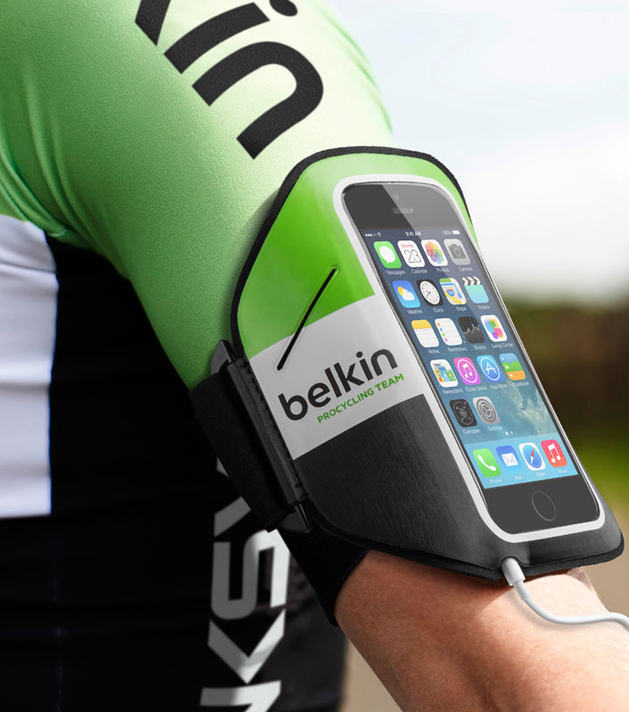 Amazon.com: Belkin Pro Cycling Team Armband for iPhone 5