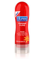 DUREX Massage & Play Soothing Touch 2-in-1 Massage Gel & Intimate Lubricant with Soothing Aloe Vera Product Shot