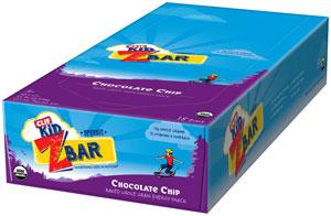 CLIF Kid Zbar Chocolate Chip, 18ct Product Shot