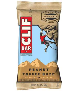 CLIF Bar Peanut Toffee Buzz Product Shot