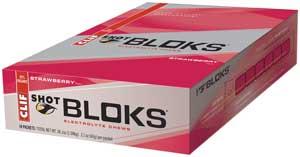 CLIF Shot Bloks Strawberry, 18 pk Product Shot