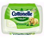 Cottonelle Gentle Care Flushable Moist Wipes