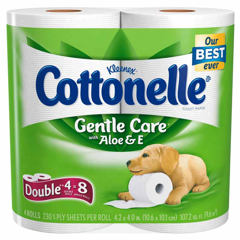 Amazon.com: Cottonelle Gentle Care Toilet Paper with Aloe ...