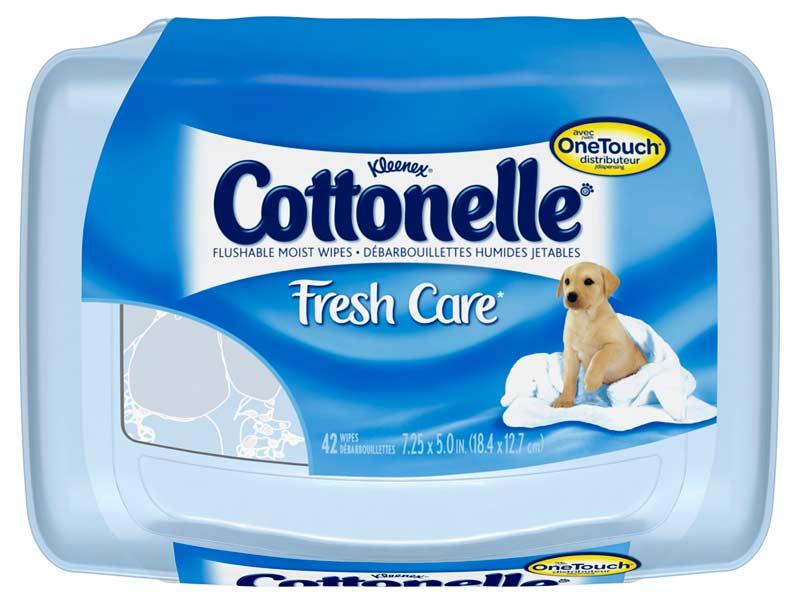 Cottonelle Fresh Folded Moist Wipes Pop Up Tub