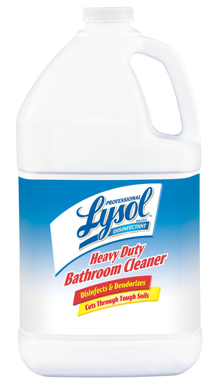Professional LYSOL Brand Disinfectant Heavy Duty Bathroom Cleaner  Concentrate (1 Gallon) Product Shot Photo Gallery