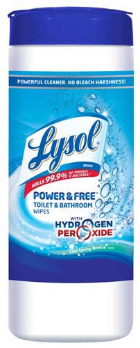 Lysol Power And Free Toilet And Bath Wipes 35