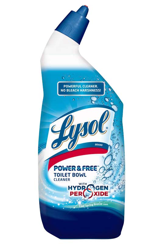 Lysol Bleach Free Hydrogen Peroxide Toilet Bowl Cleaner Fresh 24oz Health