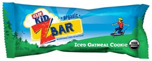 CLIF Kid Zbar Iced Oatmeal Cookie, 18ct Product Shot