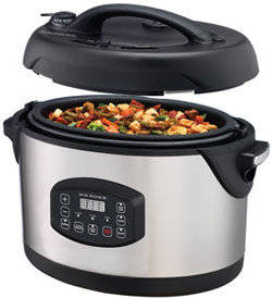 Big Boss 1300-Watt Stainless Steel Oval Pressure Cooker, 8.5-Quart Product Shot