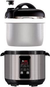 Big Boss 900-Watt Stainless Steel Pressure Cooker, 5-Quart Product Shot