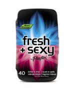 Playtex Fresh + Sexy Intimate Wipes, 40-Count Tub