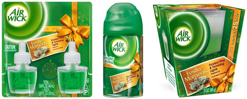 Amazon Com Air Wick Scented Oil Twin Refills Frosted Pine