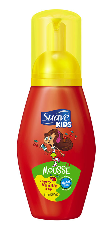 Suave Kids Cherry Vanilla Bop Mousse, 7 oz. Average rating: 0 out of 5 stars, based on 0 reviews Write a review. Suave. Walmart # This button opens a dialog that displays additional images for this product with the option to zoom in or out. Tell us if something is incorrect.