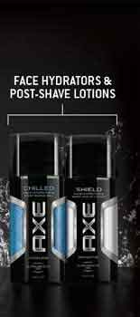 Axe Face Hydrators & Post-Shave Lotions