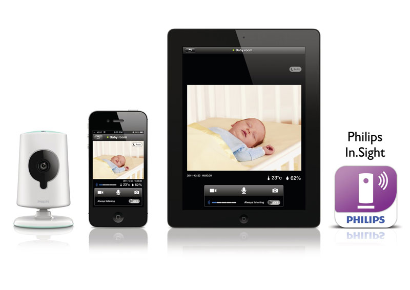 philips b120e 37 insight wireless hd baby monitor video camera w. Black Bedroom Furniture Sets. Home Design Ideas