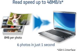 Samsung microSDHC Plus UHS-1 Class 6 Memory Card (32 GB) Product Shot