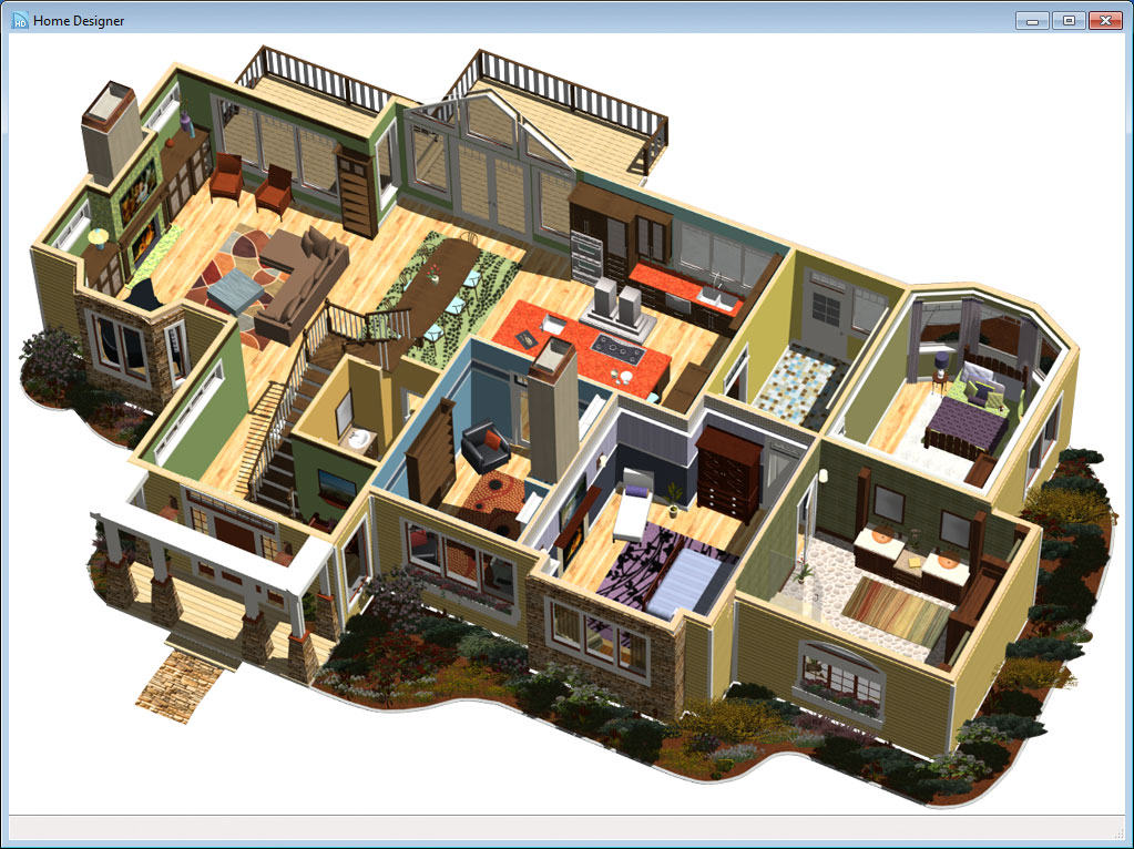 Lovely 3 D Camera Tools Including Glass House, Doll House, Watercolor, Technical  Illustration, And Elevations
