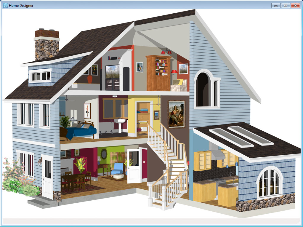 Home designer essentials 2014 download software for Architectural home plans