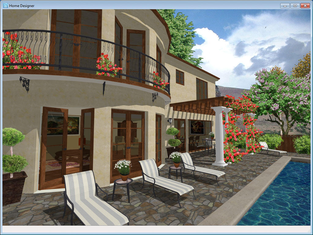 Home designer landscape and decks 2014 download software for Home architect design software free download