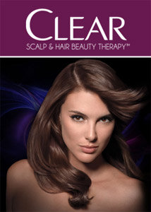 Clear hair product