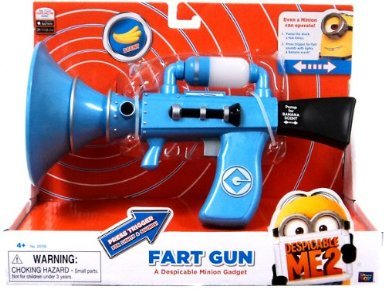 Despicable Me 2 Fart Blaster features two modes of play.