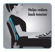 Helps reduce back tension