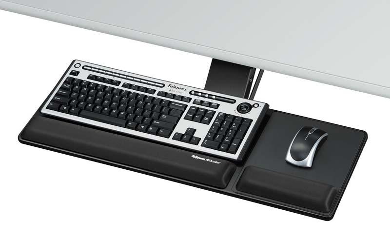 Beau Adjustable Under Desk Keyboard Tray Photos