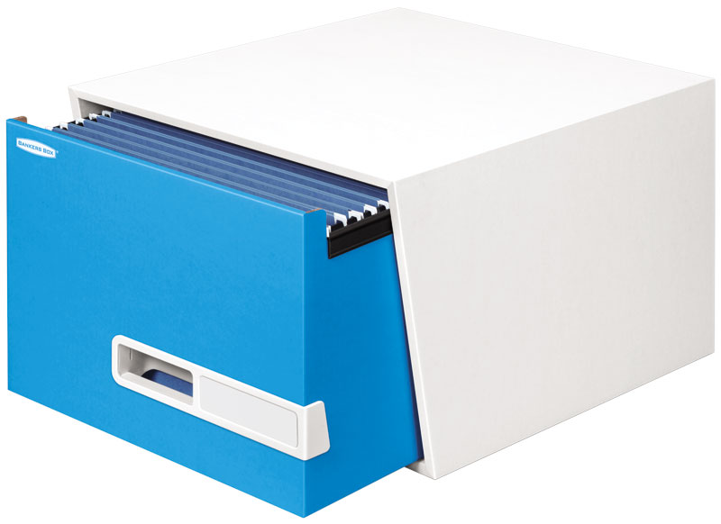 Bankers Box Stor/Drawer Premier Storage Drawer (Legal; Blue) Product Shot