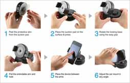 Easy Flex 2 Car Mount Installation Instruction