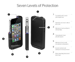 Lifeproof seven levels of protection