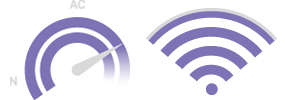 Speed and Range Icons