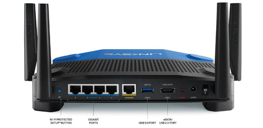 Amazon Com Linksys Wrt Ac1900 Dual Band Wi Fi Wireless