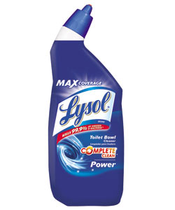 Amazon Com Lysol Power Toilet Bowl Cleaner 24oz Pack Of